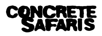 Concrete Safaris Youth Photo Expo 2020 Logo