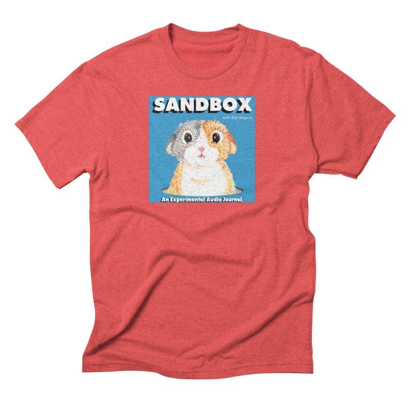 SANDBOX Logo Men's T-Shirt by Content Pending - DrunkCast Live! Store