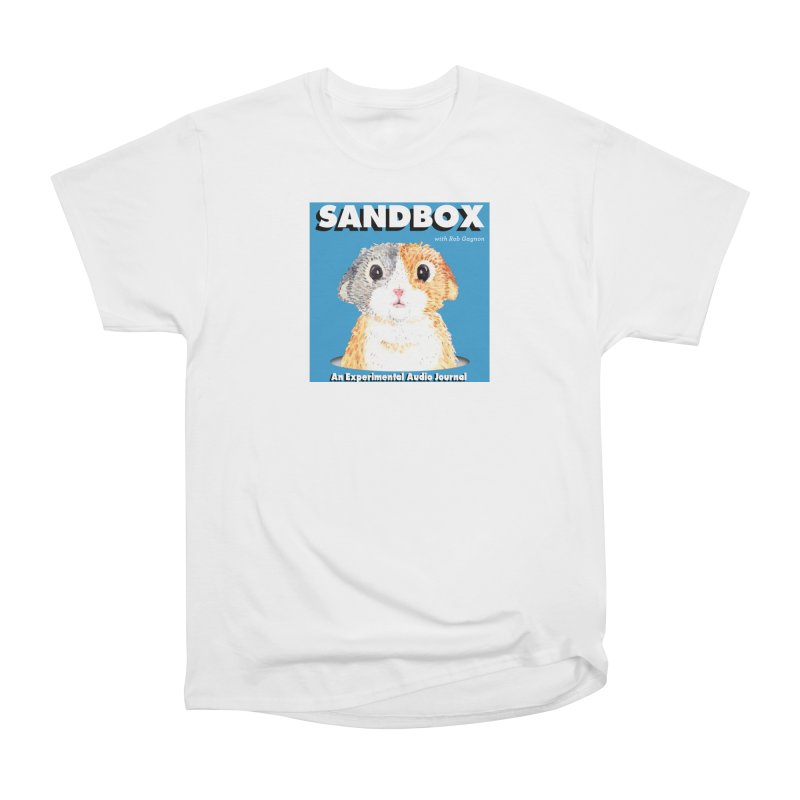 SANDBOX Logo Men's T-Shirt by Content Pending - DrunkCast Live! Store