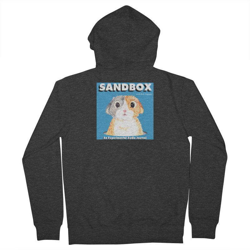 SANDBOX Logo Women's Zip-Up Hoody by Content Pending - DrunkCast Live! Store