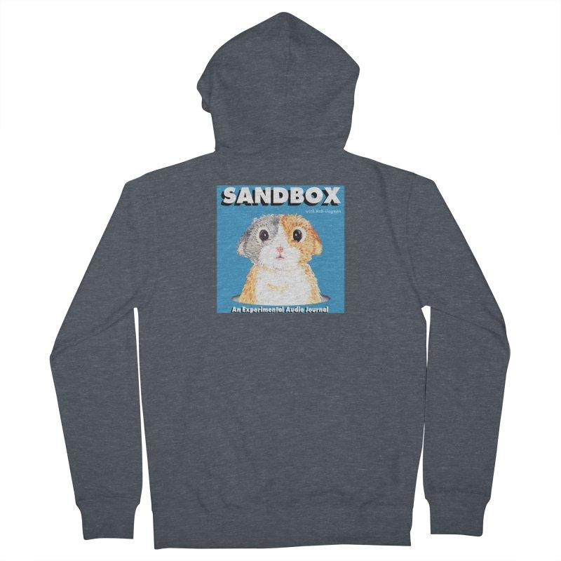 SANDBOX Logo Women's Zip-Up Hoody by Content Pending - DrunkCast Live! Store