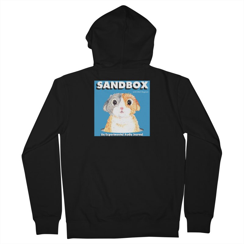 SANDBOX Logo Men's Zip-Up Hoody by Content Pending - DrunkCast Live! Store