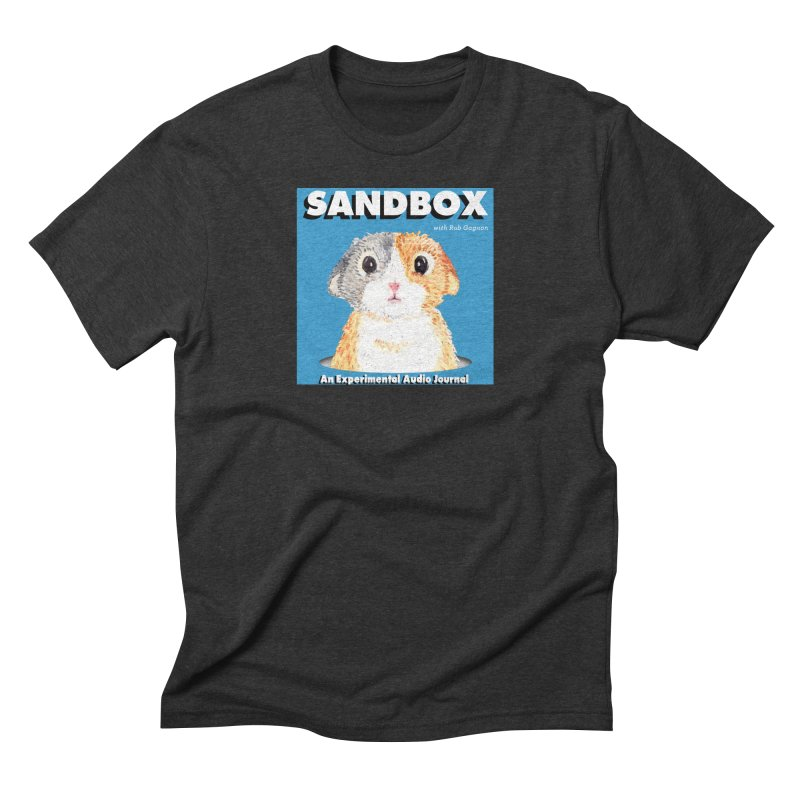 SANDBOX Logo Men's Triblend T-Shirt by Content Pending - Things & Notables