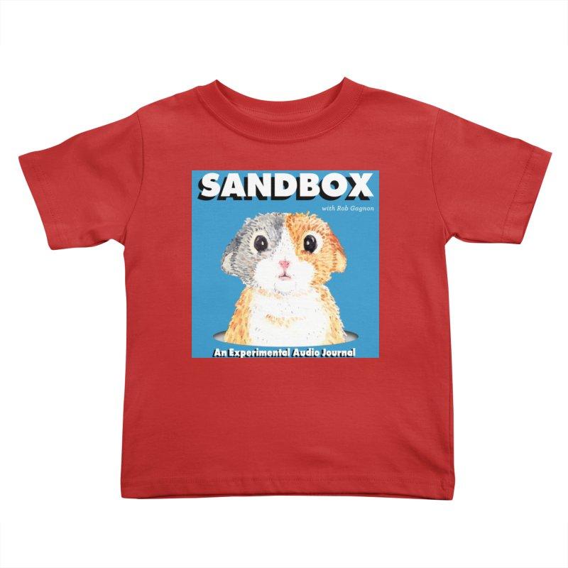 SANDBOX Logo Kids Toddler T-Shirt by Content Pending - Things & Notables
