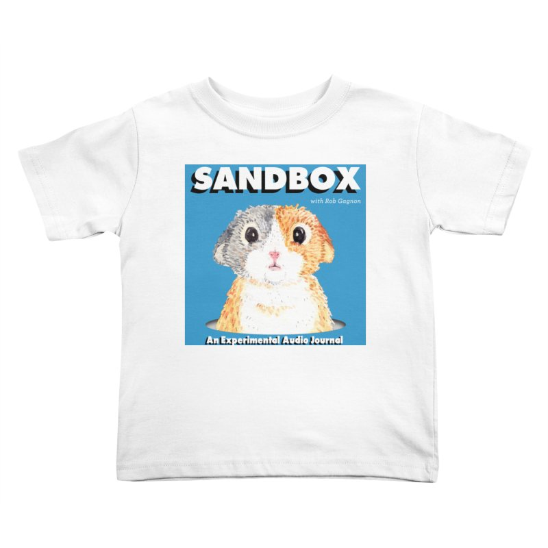 SANDBOX Logo Kids Toddler T-Shirt by Content Pending - DrunkCast Live! Store