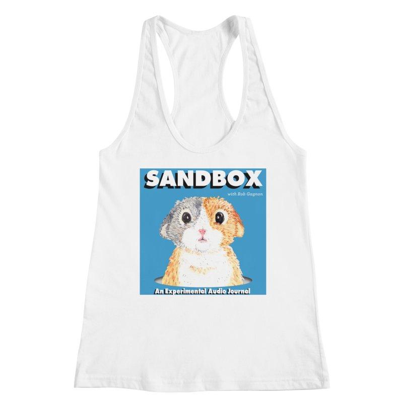 SANDBOX Logo Women's Racerback Tank by Content Pending - Things & Notables