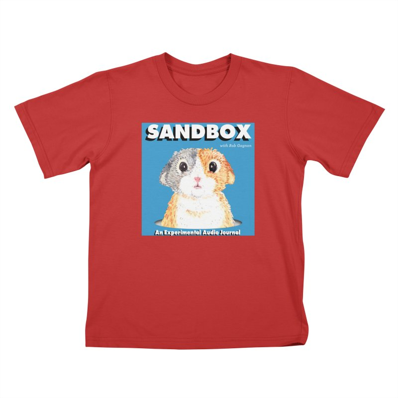 SANDBOX Logo Kids T-Shirt by Content Pending - Things & Notables