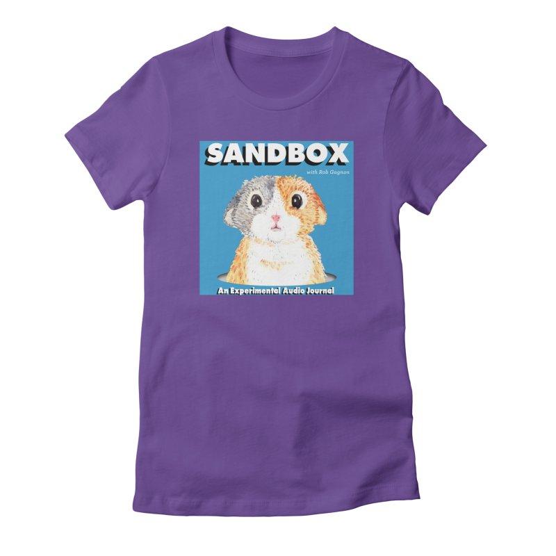 SANDBOX Logo Women's T-Shirt by Content Pending - DrunkCast Live! Store