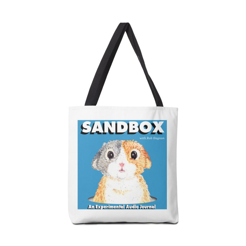 SANDBOX Logo Accessories Bag by Content Pending - DrunkCast Live! Store