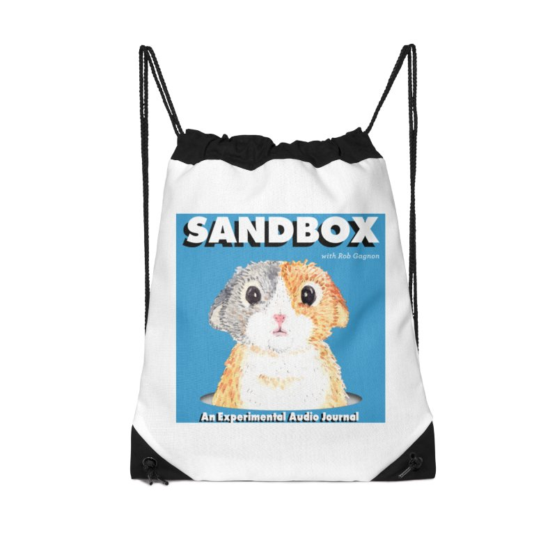 SANDBOX Logo Accessories Drawstring Bag Bag by Content Pending - Things & Notables