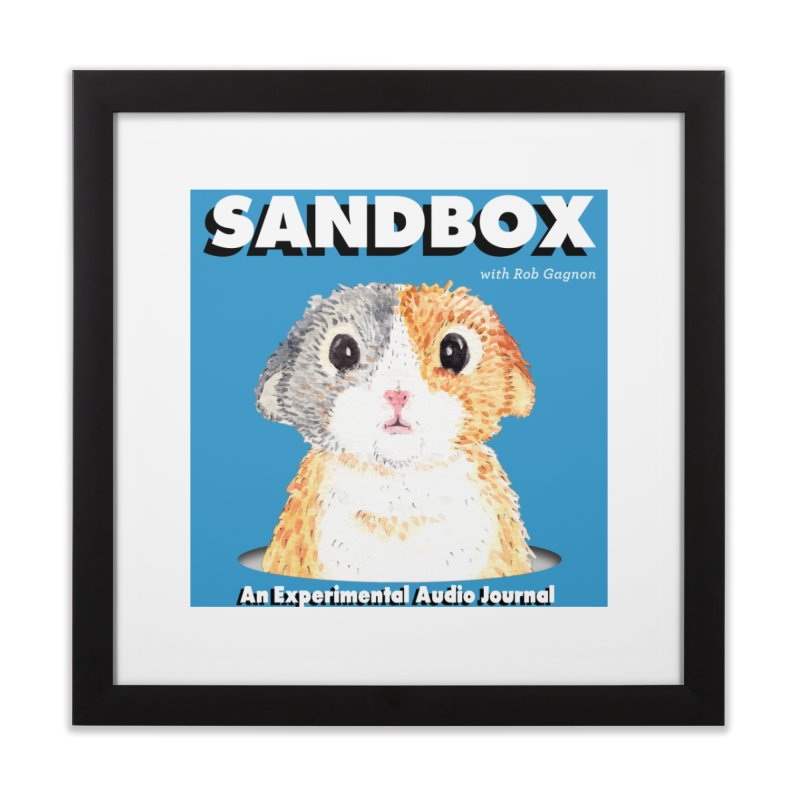 SANDBOX Logo Home Framed Fine Art Print by Content Pending - Things & Notables