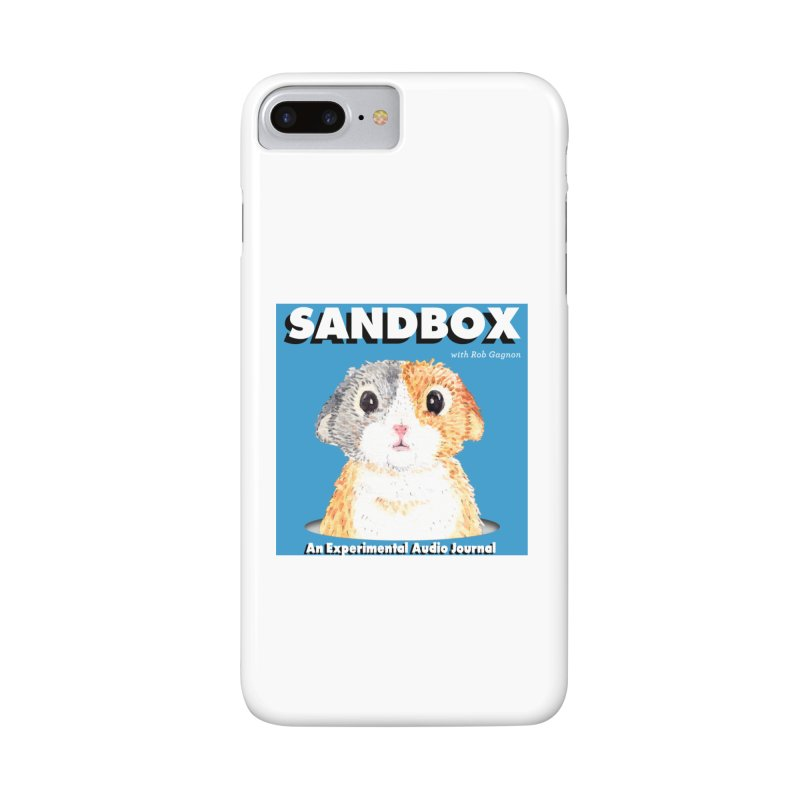 SANDBOX Logo Accessories Phone Case by Content Pending - DrunkCast Live! Store