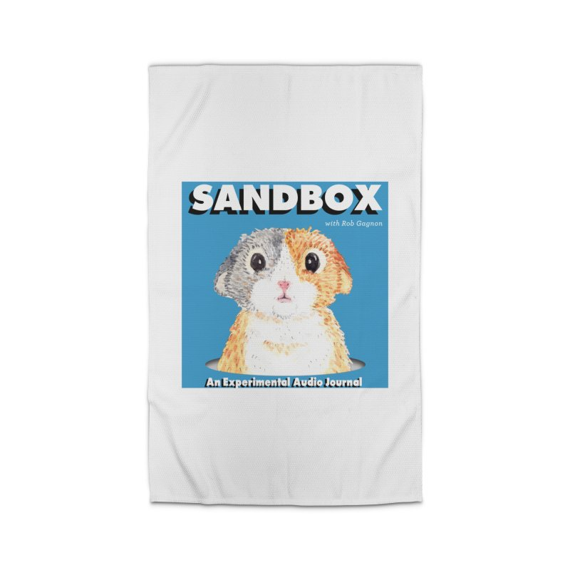 SANDBOX Logo Home Rug by Content Pending - DrunkCast Live! Store