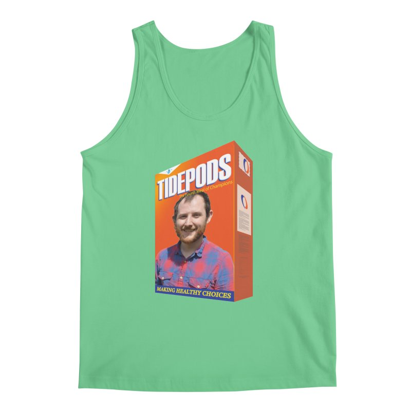 The J Stands for Performance Men's Regular Tank by Content Pending - Things & Notables
