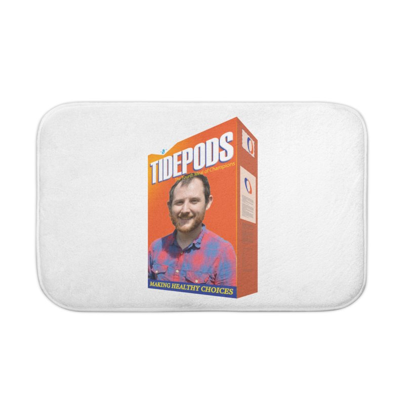 The J Stands for Performance Home Bath Mat by Content Pending - DrunkCast Live! Store