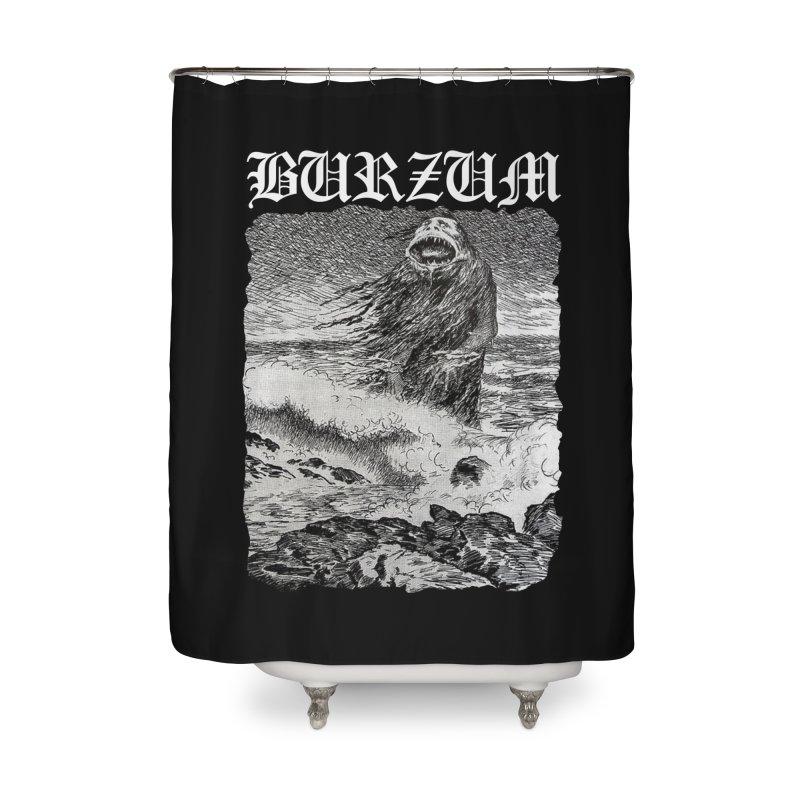 Contrabanda Burzum The Sea Monster Home Shower Curtain