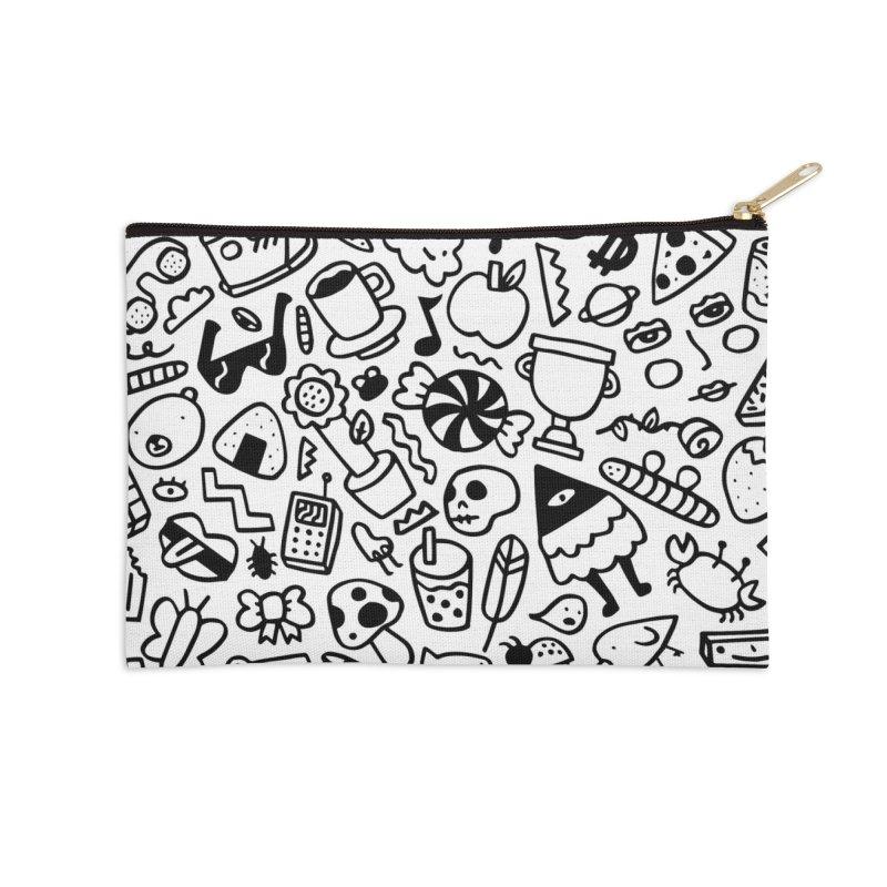 Pattern Pouch Accessories Zip Pouch by controlcenter's Artist Shop