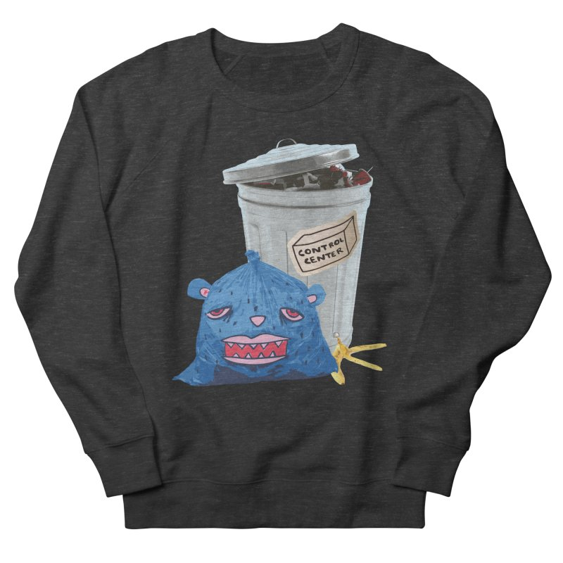 Trash Can Women's French Terry Sweatshirt by controlcenter's Artist Shop