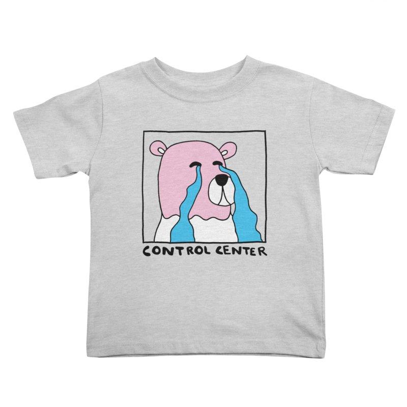 PINK BEAR OF SAD FEELINGS Kids Toddler T-Shirt by controlcenter's Artist Shop