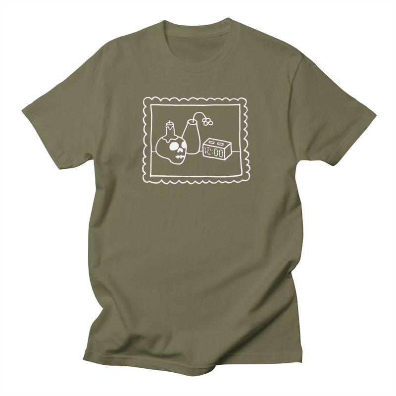 STILL LIFE (in white) Men's Regular T-Shirt by controlcenter's Artist Shop
