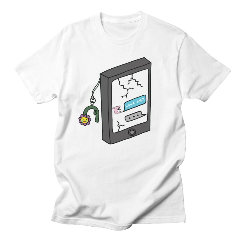 LOVE ME? Women's Regular Unisex T-Shirt by controlcenter's Artist Shop