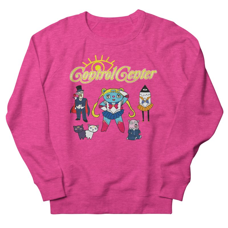 SAILOR MOON (PLZ DON'T SUE ME) Women's French Terry Sweatshirt by controlcenter's Artist Shop