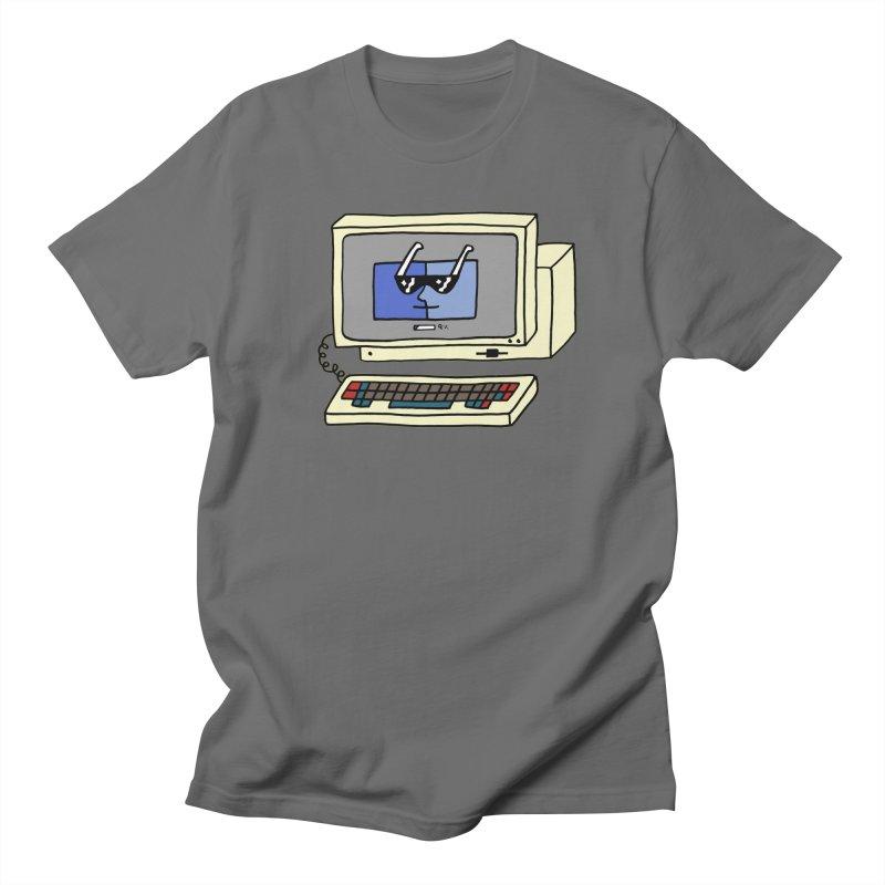 Old Computer! Men's T-Shirt by controlcenter's Artist Shop