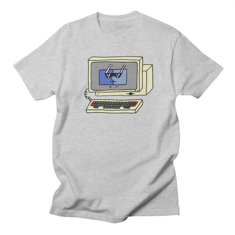 Old Computer! Women's Regular Unisex T-Shirt by controlcenter's Artist Shop