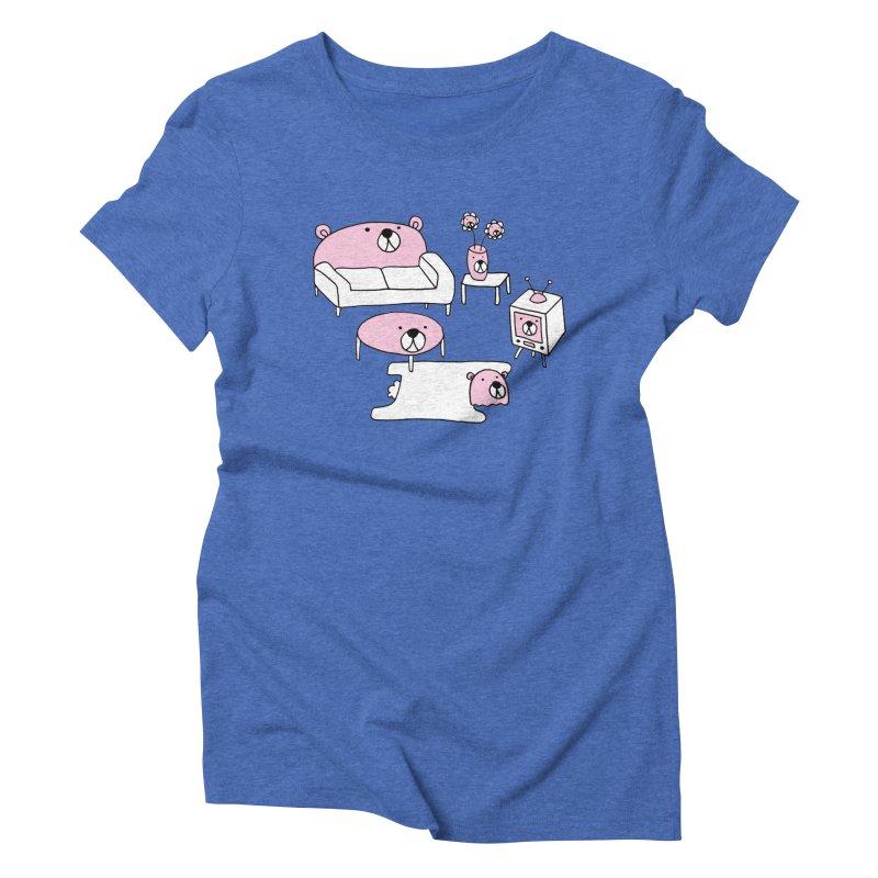 MOMOKUMA LIFESTYLE Women's Triblend T-Shirt by controlcenter's Artist Shop