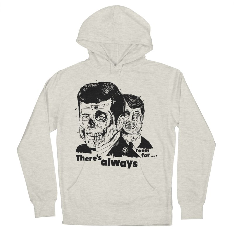 There's always room for... Men's French Terry Pullover Hoody by controlx's Artist Shop