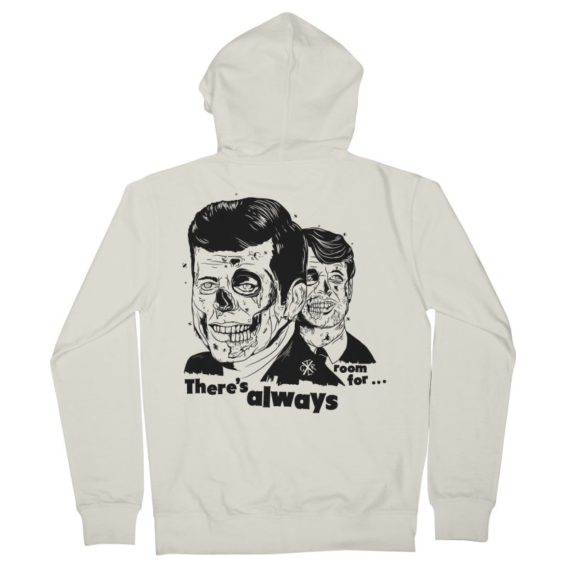 There's always room for... Men's French Terry Zip-Up Hoody by controlx's Artist Shop
