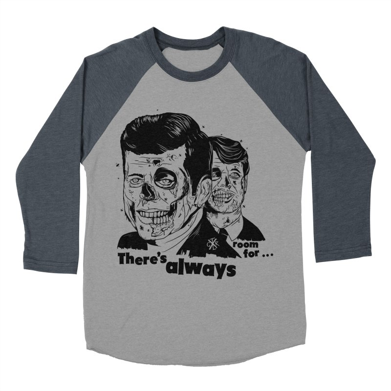 There's always room for... Women's Baseball Triblend Longsleeve T-Shirt by controlx's Artist Shop