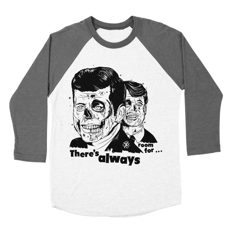 There's always room for... Men's Baseball Triblend Longsleeve T-Shirt by controlx's Artist Shop