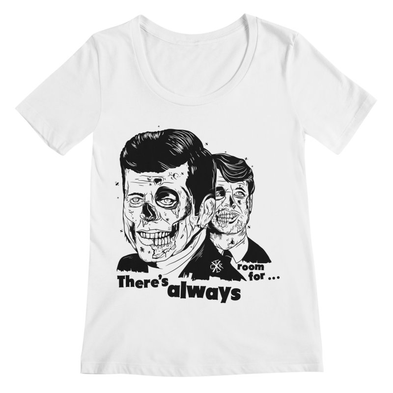 There's always room for... Women's Regular Scoop Neck by controlx's Artist Shop