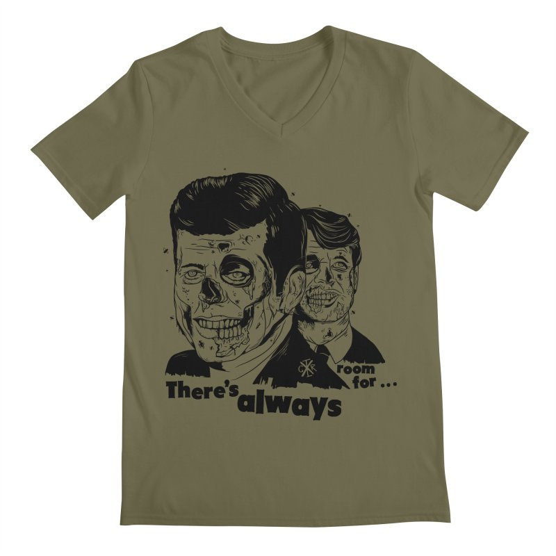There's always room for... Men's Regular V-Neck by controlx's Artist Shop