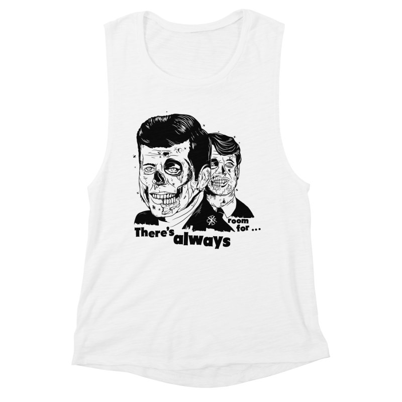 There's always room for... Women's Muscle Tank by controlx's Artist Shop