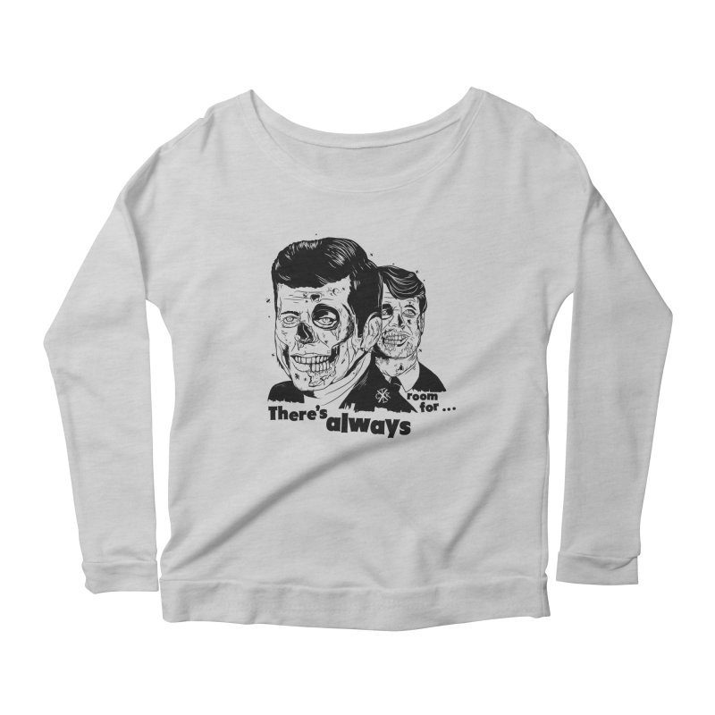 There's always room for... Women's Scoop Neck Longsleeve T-Shirt by controlx's Artist Shop