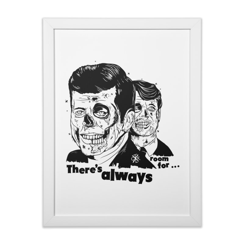 There's always room for... Home Framed Fine Art Print by controlx's Artist Shop