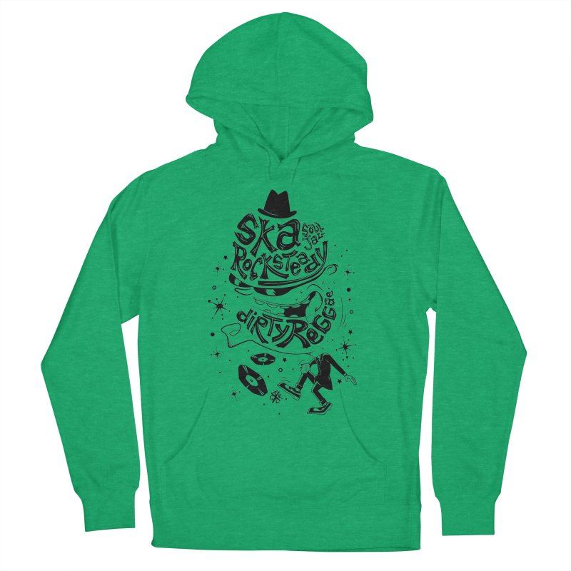 Rude! Men's French Terry Pullover Hoody by controlx's Artist Shop