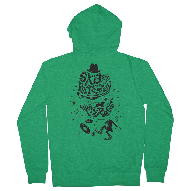 Rude! Women's French Terry Zip-Up Hoody by controlx's Artist Shop