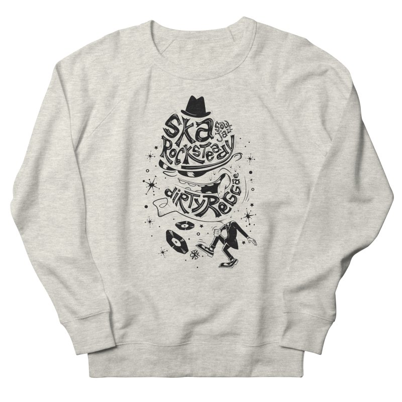 Rude! Men's French Terry Sweatshirt by controlx's Artist Shop