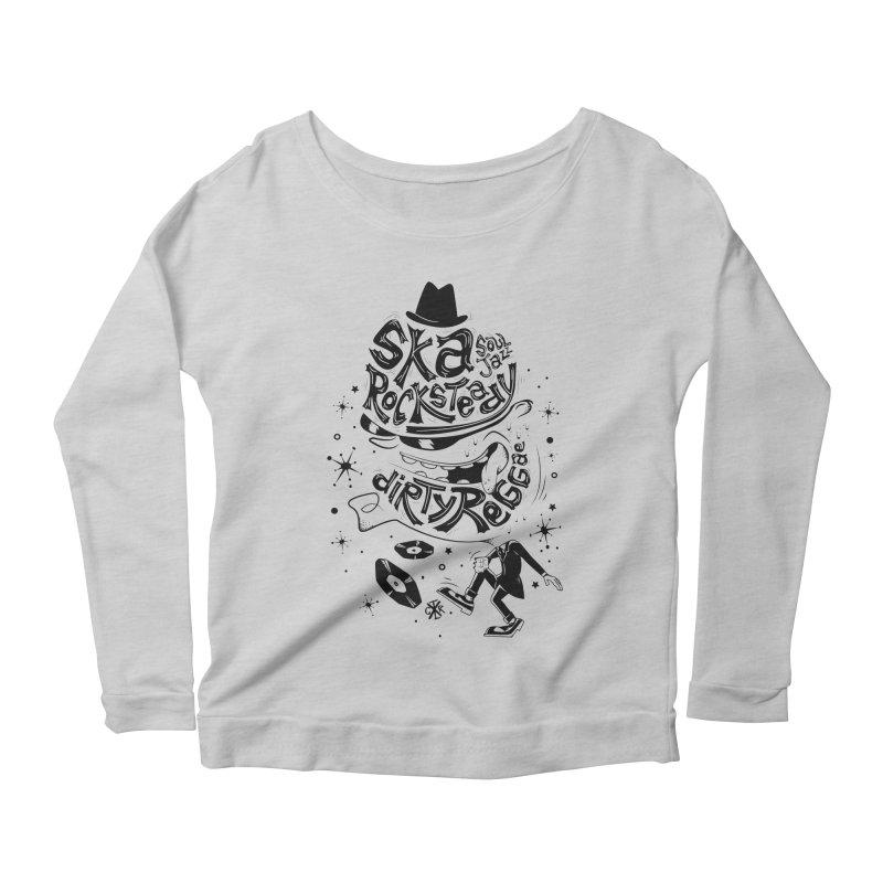 Rude! Women's Scoop Neck Longsleeve T-Shirt by controlx's Artist Shop