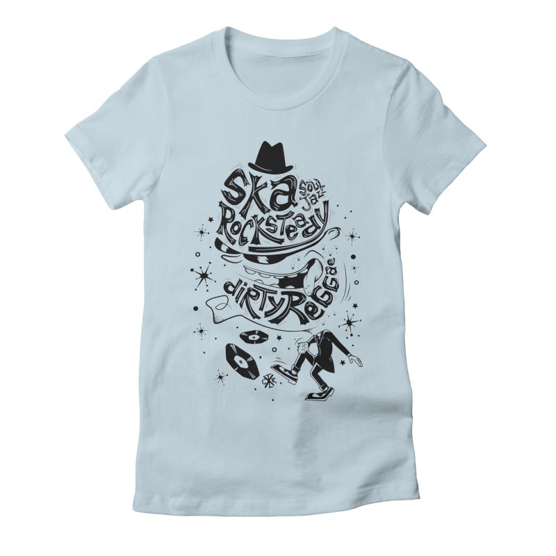 Rude! Women's Fitted T-Shirt by controlx's Artist Shop