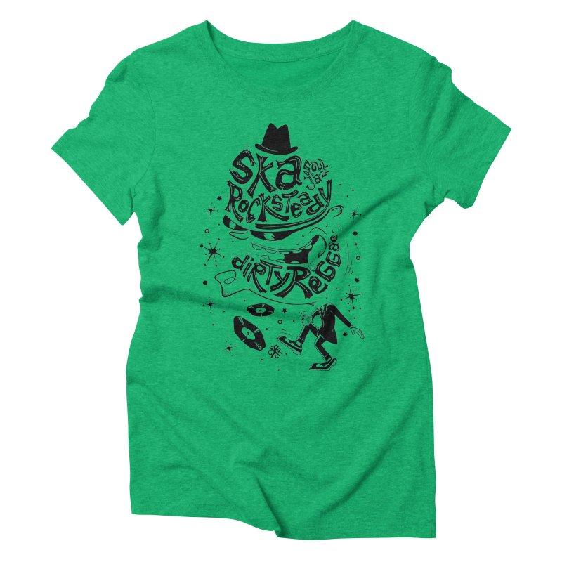 Rude! Women's Triblend T-Shirt by controlx's Artist Shop