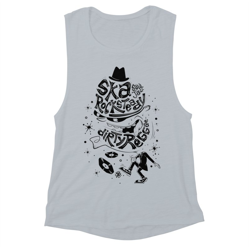 Rude! Women's Muscle Tank by controlx's Artist Shop