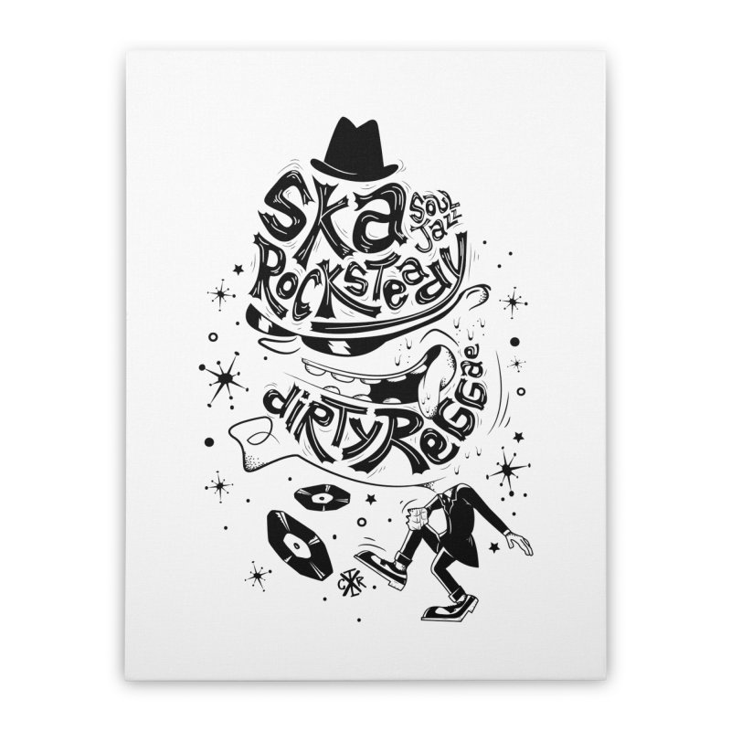 Rude! Home Stretched Canvas by controlx's Artist Shop