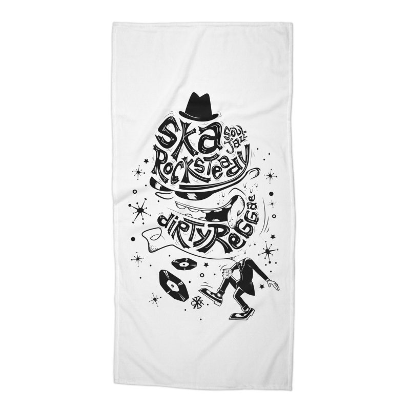 Rude! Accessories Beach Towel by controlx's Artist Shop