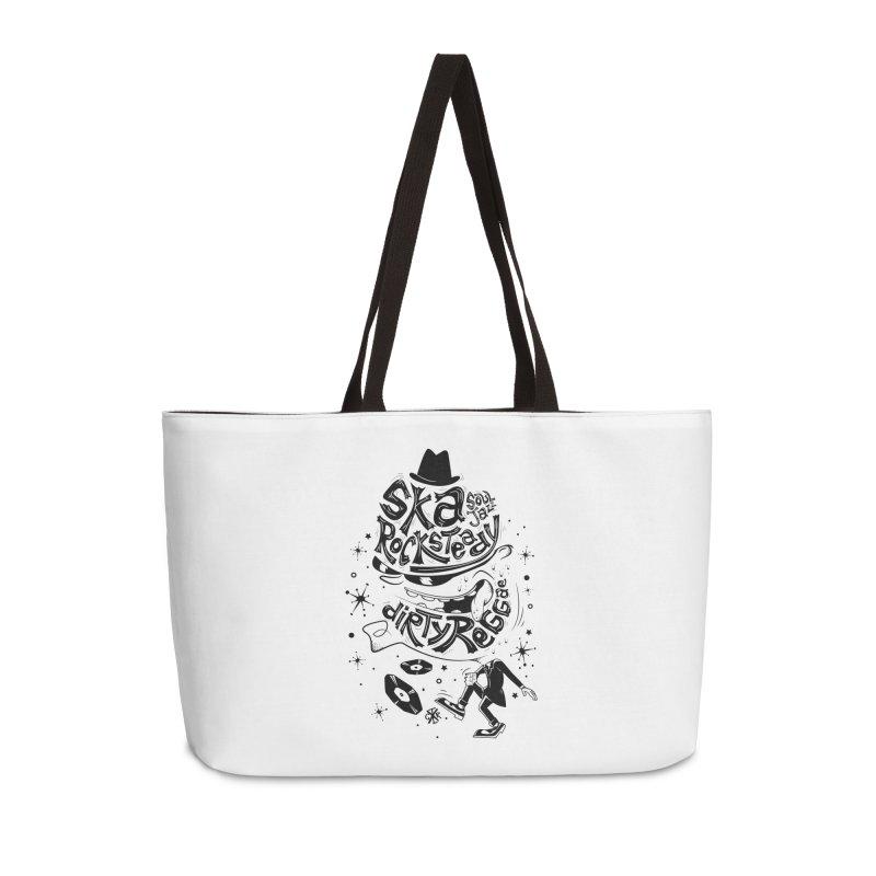 Rude! Accessories Weekender Bag Bag by controlx's Artist Shop