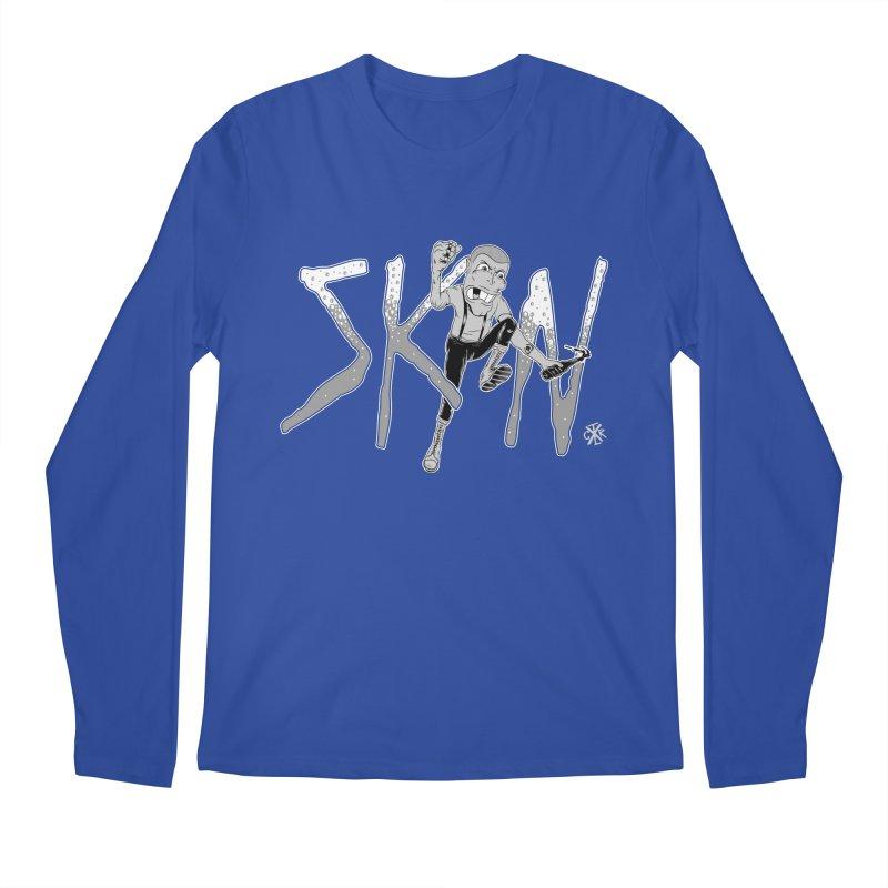 Skin Men's Regular Longsleeve T-Shirt by controlx's Artist Shop