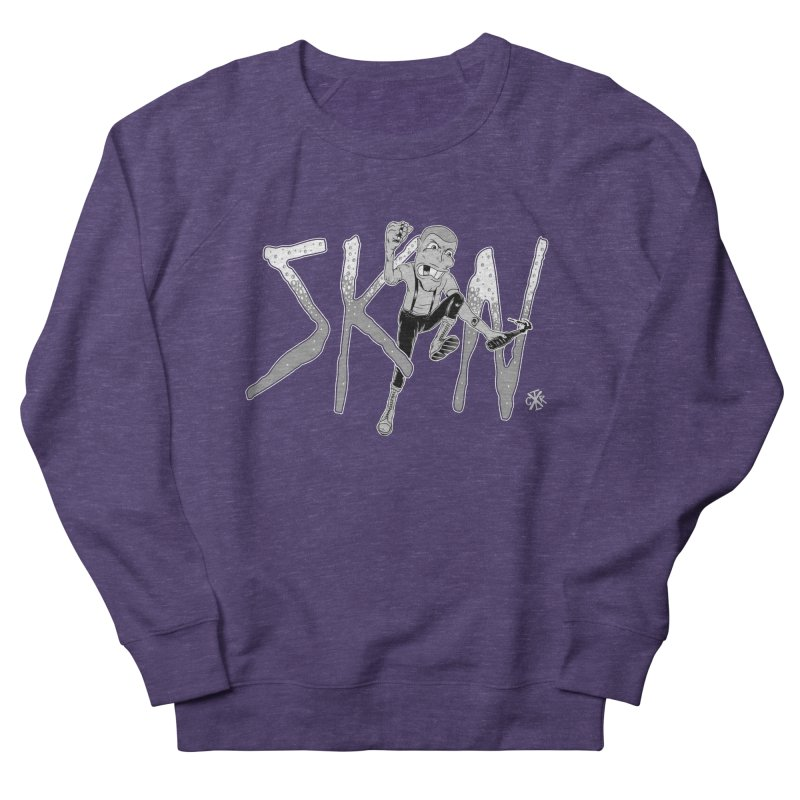Skin Men's French Terry Sweatshirt by controlx's Artist Shop